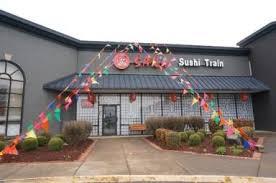 Osaka Sushi Train logo
