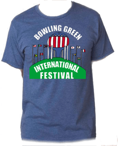 2018 Shirt Design by Darius Lightfoot on heather navy