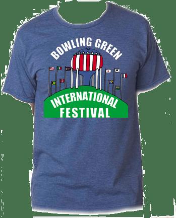 e1f5d79043c9df 2018 Shirt Design by Darius Lightfoot on heather navy