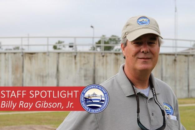 Staff Spotlight - Billy Ray Gibson, Jr