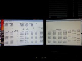 Ubuntu Multi-Display Workstation - Sales and Profit Calculations as of NOV 2014