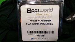 AppsWorld, Berlin, April 21st, 2016