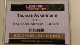 2017 BLOCKCHAIN EXPO BERLIN