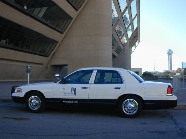 Cruiser #1 at Dallas City Hall