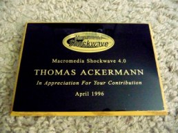 ShockWave Award