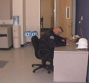 Security Guard (Ttemorary setup)