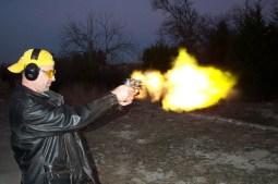 Gun training with the FBI