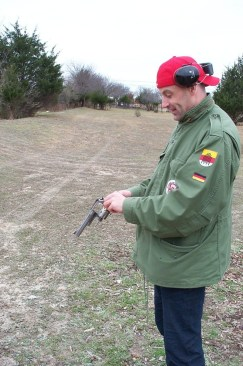 """Gun training with the FBI - Waxahachie Range - with my own Smith & Wesson K-Frame .44 Magnum Revolver (the """"Dirty Harry Gun"""")"""