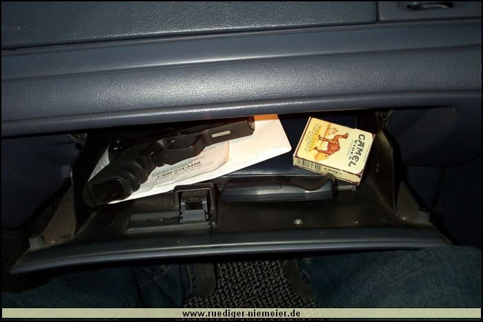 Cruiser #1 Glove Compartment