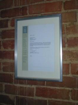 KPMG Letter