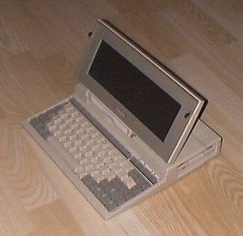 1988 My Toshiba T1000 Laptop