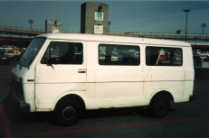 1993/94 - Moving Van for the US Move