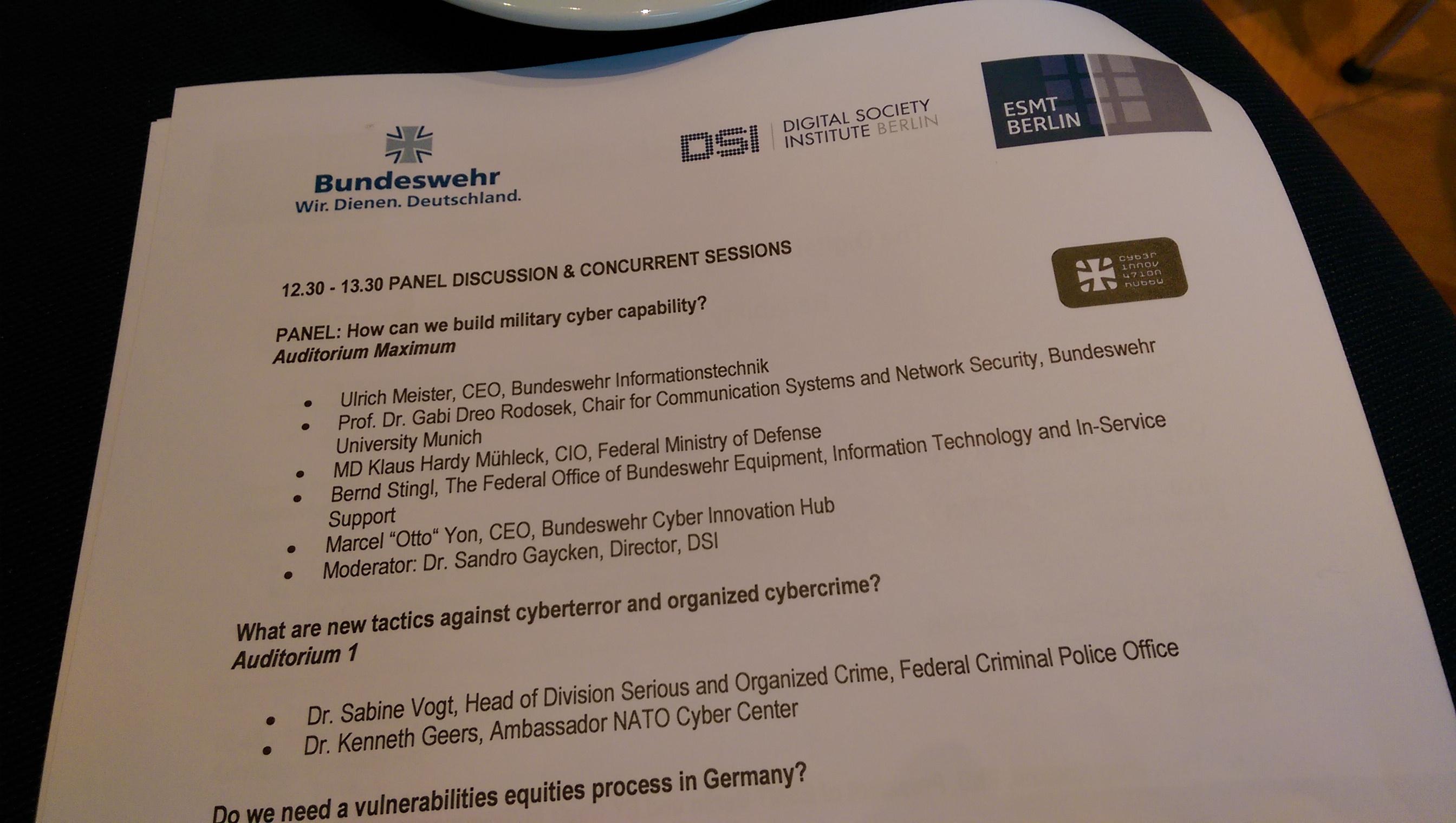 Digital Society Conference Berlin