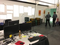 My Office is party central catering for the night - Defense Innovator Round-Up after DSC2017