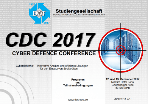 CYBER DEFENCE CONFERENCE 2017