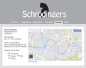 Schrödinger's Berlin - for Staff Lunches
