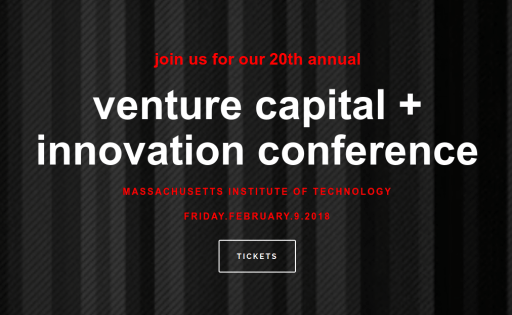 MIT venture capital + innovation conference