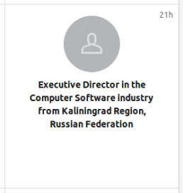 Interesting who looks at my LinkedIn Profile ...