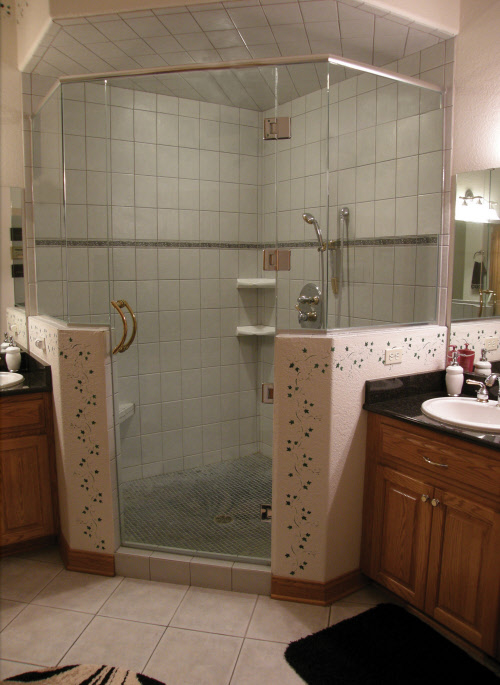 Walk Shower No Door