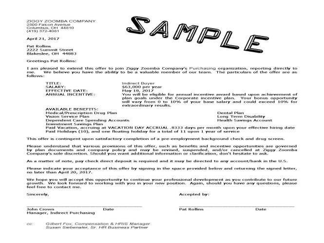 rescind accepted job offer