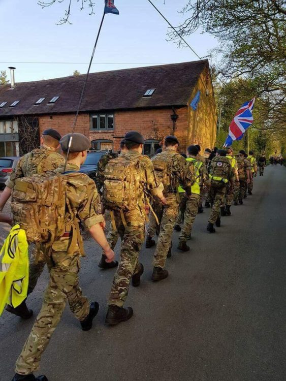 Road Marching Success at RAF Cosford