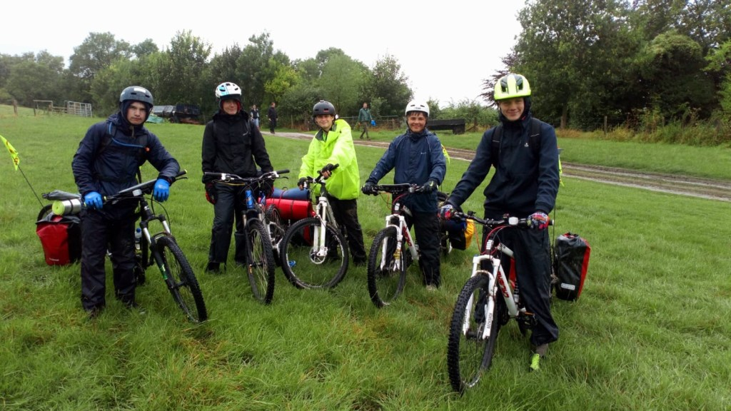 Cadets battle the weather on first Silver Duke of Edinburgh biking expedition!