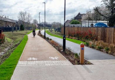 More Cycling and Walking Infrastructure for BCP!