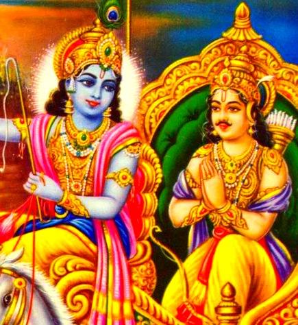 Image result for krishna and arjuna