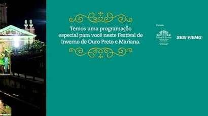 Festival de Inverno de Ouro Preto e Mariana - Ações Vale
