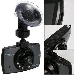 Car dvr dual camera