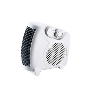 Fan heater white