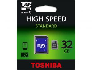 TOSHIBA MICRO SD 32GB