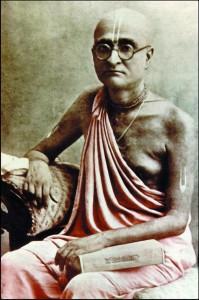 Srila Bhaktisiddhanta Sarasvati, o único discípulo aceito por Srila Gaura Kisora Dasa