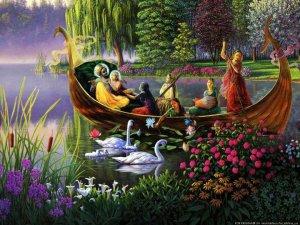 """""""Abandone todos os desejos mundanos, não vá a qualquer lugar por qualquer motivo, e não se associe com pessoas comuns. Sempre cante os Santos Nomes e pense nos  passatempos do Senhor Krsna. Seja mais humilde que uma folha de grama e mais tolerante que uma árvore."""""""