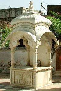 Samadhi de Srila Narottama Dasa Thakura, Vrindavana