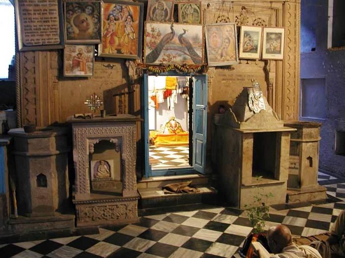 Samadhi de Gopal Bhatta Gosvami em Vrindavana.
