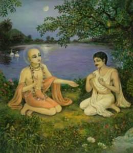 Raya Ramananda e Sri Caitanya Mahaprabhu