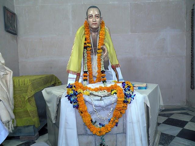 Samadhi-Mandir de Srila Rupa Gosvami, Vrindavana,