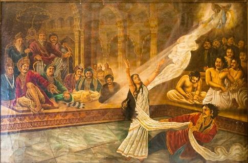 Onde estava sua sabedoria naquela hora? Por que você não deu esse conhecimento para Duryodhana, Dhusasana, Karna, Sakuni, e todos os outros demônios? Por quê?