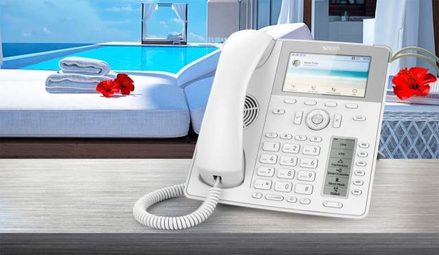 TELÉFONOS IP DE SNOM