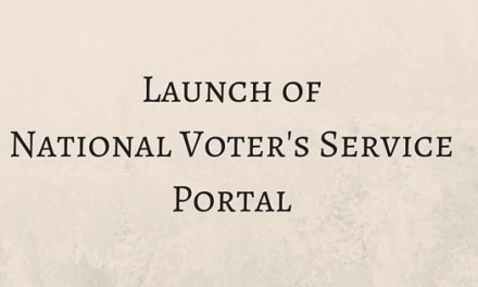 Launch of National Voter's Service Portal