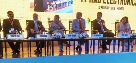 Recent Pics From the Make in India Week : 15th Feb
