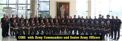 Winners of Inter Command Sports Trophy and COAS Essay Competition