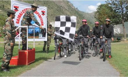 Gajraj Mountain Terrain Cycling Expedition