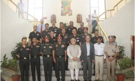 INDIAN ARMY & GOVT OF HARYANA ADDRESS ISSUES OF MUTUAL INTEREST