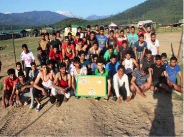 A Great Response from Kashmir Youth to Join Indian Army