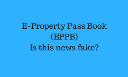 E-Property Pass Book (EPPB) – Updated on 30/11/2016