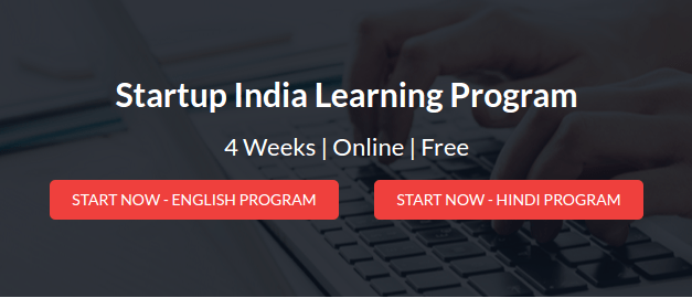 Steps to register for 4 Weeks #StartupIndia Learning Program