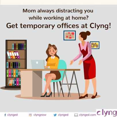 Get temp office at clyng