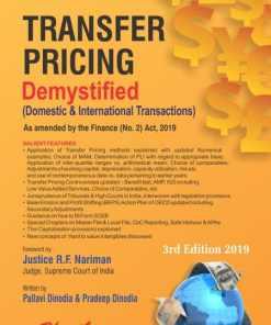 Bharat's Transfer Pricing Demystified (Domestic & International Transactions) by Pallavi Dinodia & Pradeep Dinodia - 3rd Edition August 2019
